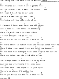 simple man lyrics printable version country music you bring out the wild side of me dan seals lyrics and