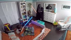 darth vader dad wakes up 2 year old son with lightsaber today com