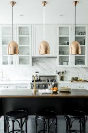 copper backsplash tiles kitchen surfaces pinterest countertops backsplash shining copper pendant light opulent