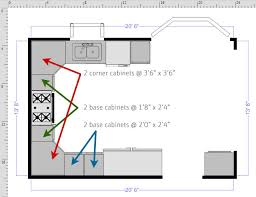 Kitchen Floor Plan Designer How To Draw A Floor Plan With Smartdraw