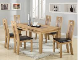 solid oak table with 6 chairs havard solid oak dining set including 6 chairs in stock for