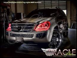 Custom Car Lights 07 12 Mercedes Benz Gl Led Halo Rings Headlights Bulbs