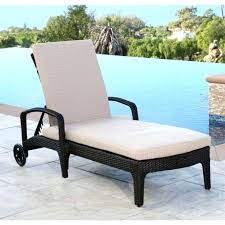 White Wicker Chaise Lounge Clearance Wicker Chaise Lounge Chairs Outdoor Black Lounges Peerpower Co