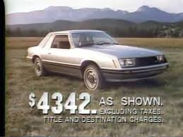ford mustang ad 1979 ford mustang tv ad commercial 1 of 3