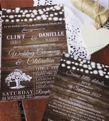 wedding invitations queensland paper invites rustic doily string of lights invitation
