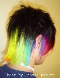 hair by tasha parker 1617 best rainbow hair images on pinterest coloured hair