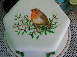 this cake was a christmas present for my dad its a fruit cake