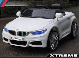 bmw battery car xtreme 12v white ride on bmw 4 series m4 style car battery