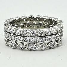 stackable wedding rings stacking rings stacking rings platinum