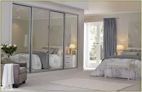 Ikea Closet Doors Home Design Frameless Mirrored Closet Doors Beach Style Compact