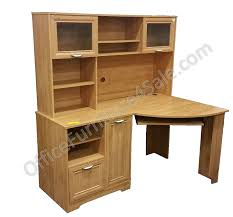 Maple Desk With Hutch Magellan Outlet Collection Corner Desk With Hutch 63 5 8 H X 59