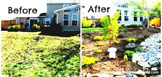 Back Garden Landscaping Ideas Simple Landscaping Ideas On A Budget Back Garden Pictures Of Front