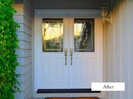 30 Exterior Door With Window Converted A Single 42 Inch Door With Side Window To Plastpro