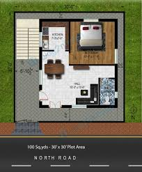 tudor style house plan 2 beds 1 baths 775 sqft plan 116113 30x30