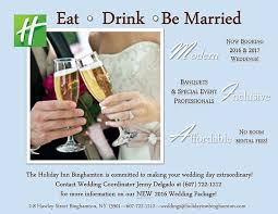 wedding deals special promotions binghamton dining