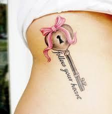 beautiful bow tattoos
