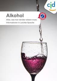 alkohol spr che infomaterial in leichter sprache cjd erfurt