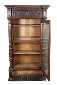Barrister Bookcase Door Slides Oak Bookcases With Glass Doors Foter
