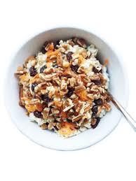 carrot cake overnight oats rachlmansfield