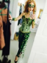 Green Ivy Halloween Costume Poison Ivy Costume Created Theme Love