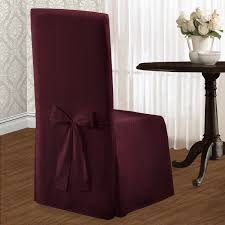 Dining Room Chair Upholstery Appealing Parson Chair Slipcovers Slipcover Skirted Slipcover