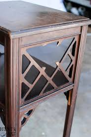 French Country Side Table - broken to french country side table i knew you when hunt and host