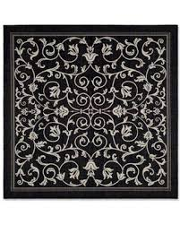 Square Indoor Outdoor Rugs Winter Bargains On Safavieh Courtyard 6 7 Square Indoor