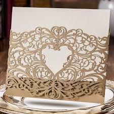 Wedding Invitation Cards Cheap Wedding Invitations Laser Cut U2013 Frenchkitten Net