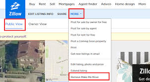 how do i edit or cancel my make me move listing zillow help center
