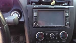 nissan altima coupe mobile al nissan altima dash stereo radio removal youtube