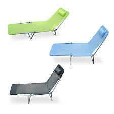 Metal Reclining Garden Chairs Metal Patio U0026 Garden Lounges Ebay