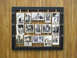 frameless picture hanging hanging frame great tutorial on making your own wire hanging photo