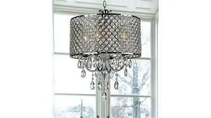 Chrome Crystal Chandelier by Chrome Finish 4 Light Round Chandelier Youtube