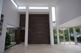 modern house brilliant hall space design implemented inside casa