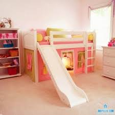 Bunk Bed With Slide And Tent Foter - Slide bunk beds