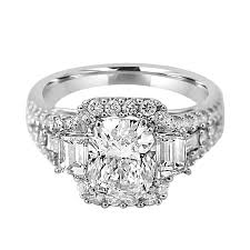 engagement rings with baguettes jean jewelers