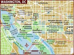 map usa lonely planet map of washington dc