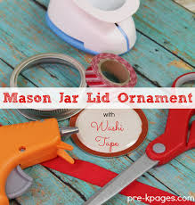 jar lid ornament