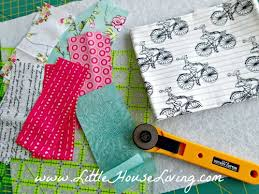 easy quilted placemat pattern tutorial house living