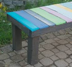 Low Cost Patio Furniture - diy wood pallet bench low cost and easy to make u2022 our house now