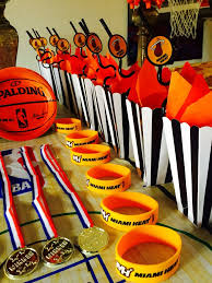 basketball party table decorations 9 best kids party ideas images on pinterest birthdays basketball