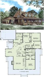 2173 sq ft country house plan with wrap around porch and upstairs