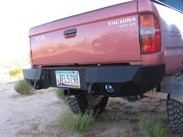2002 toyota tacoma rear bumper replacement toyota tacoma