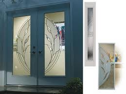 Glass Inserts For Exterior Doors Glass Door Inserts Handballtunisie Org