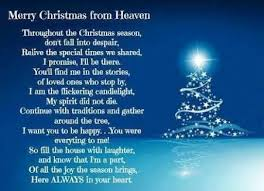 25 merry christmas heaven ideas