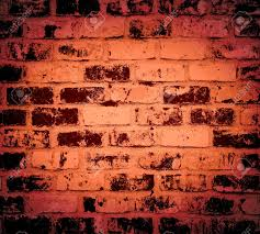 dark red brick wall texture grunge background stock photo