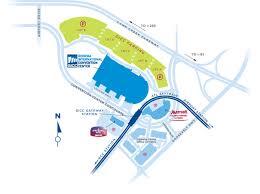atlanta international airport map international convention center getting here