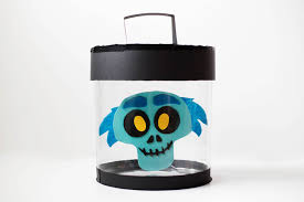 diy disney emoji hatbox ghost halloween decor u2014 all for the boys