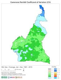 Cameroon Africa Map by Products Early Warning And Environmental Monitoring Program
