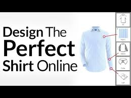 design the perfect shirt online customize dress shirts in 3